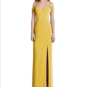 After Six 1517 Marigold Mustard Yellow Bridesmaid